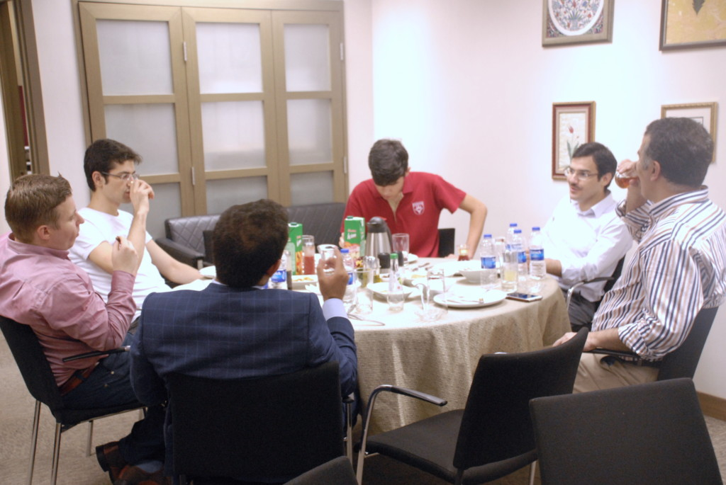 Iftar Dinner with Pearl Family