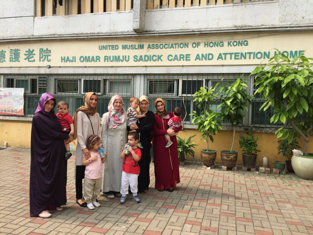 Visit to Elderly Home by PI Women